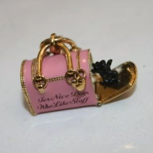 Juicy Couture Jewelry - Juicy Couture Yorkie Dog Carrier Purse Bag Charm ✨